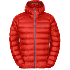 Norrøna M's Lyngen Lightweight 750 Down Jacket Crimson Kick